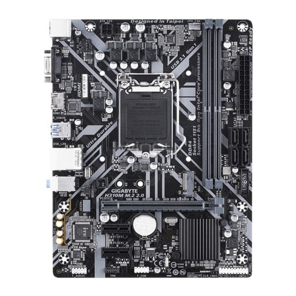 MOTHERBOARD GIGABYTE H310M M.2 2.0 DDR4 B